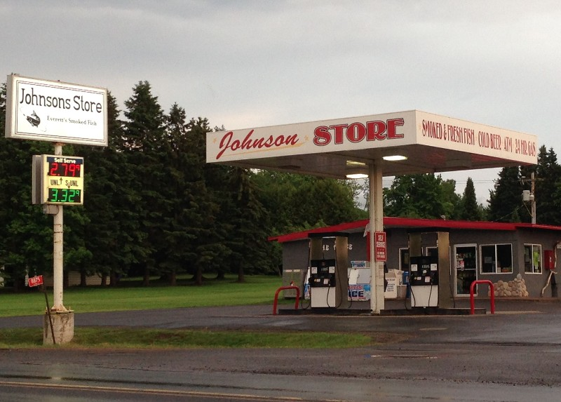Johnson Store in Port Wing, Wisonsin